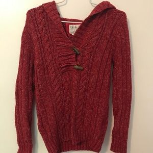 Old navy red terracotta pullover